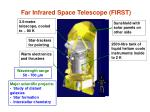 far infrared space telescope first