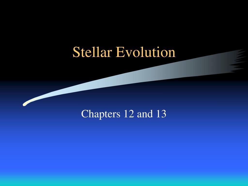 stellar evolution l.