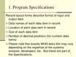 1 program specifications14