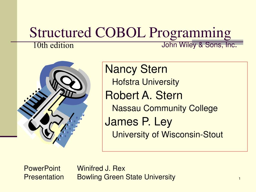 structured cobol programming l.