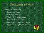 net express software