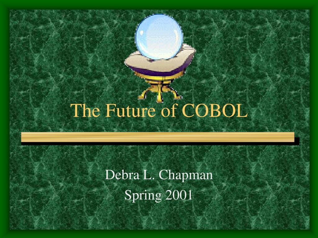 the future of cobol l.