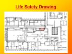 life safety drawing