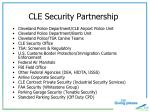 cle security partnership