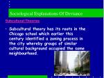 sociological explanations of deviance9