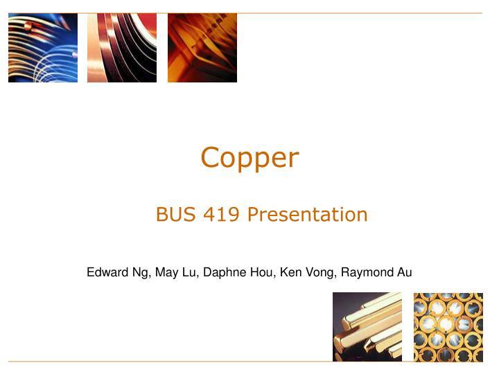 copper n.