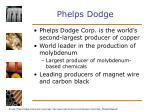 phelps dodge
