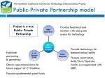 public private partnership model