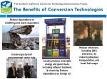 the benefits of conversion technologies