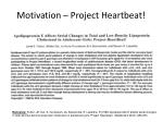 motivation project heartbeat