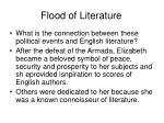 flood of literature