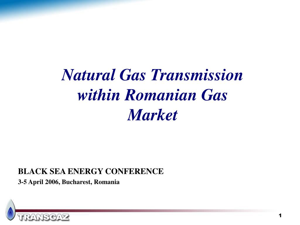 natural gas transmission within romanian gas market l.