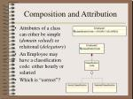 composition and attribution