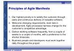 principles of agile manifesto