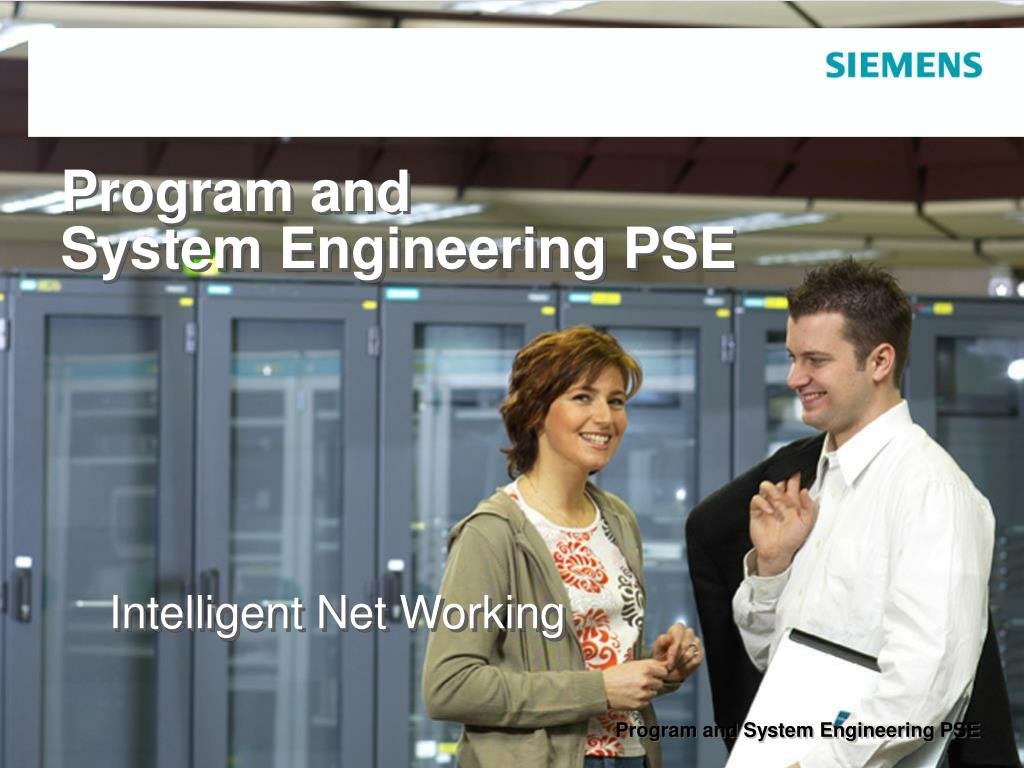 program and system engineering pse l.