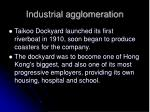 industrial agglomeration1
