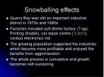 snowballing effects1