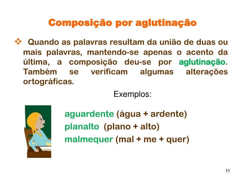 Composição por aglutinação