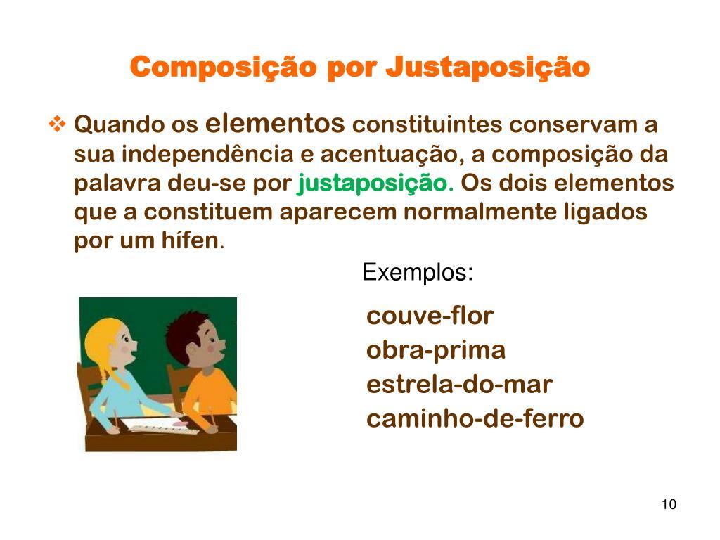 Composição por Justaposição