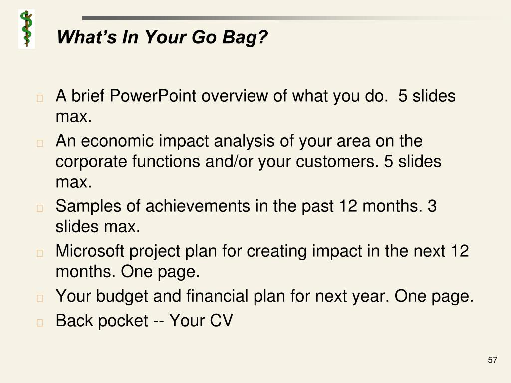What's In Your Go Bag?