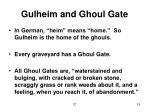 gulheim and ghoul gate