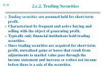 2 c 2 trading securities