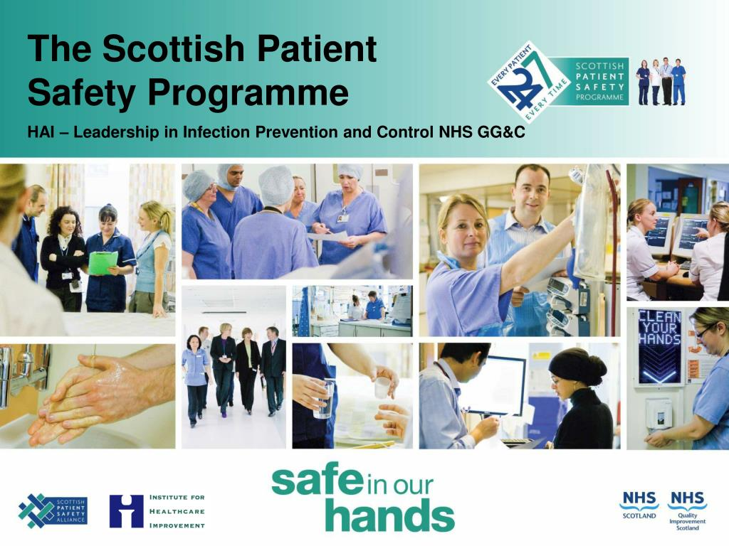 the scottish patient safety programme l.