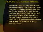 the pope to charles martel9