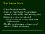 new service model