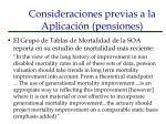 consideraciones previas a la aplicaci n pensiones