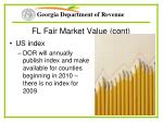 fl fair market value cont