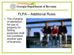 flpa additional rules37