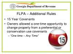flpa additional rules39