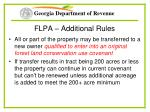 flpa additional rules41