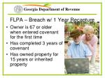 flpa breach w 1 year recapture54
