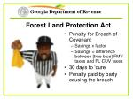 forest land protection act45