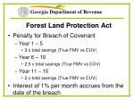 forest land protection act46