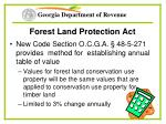 forest land protection act57
