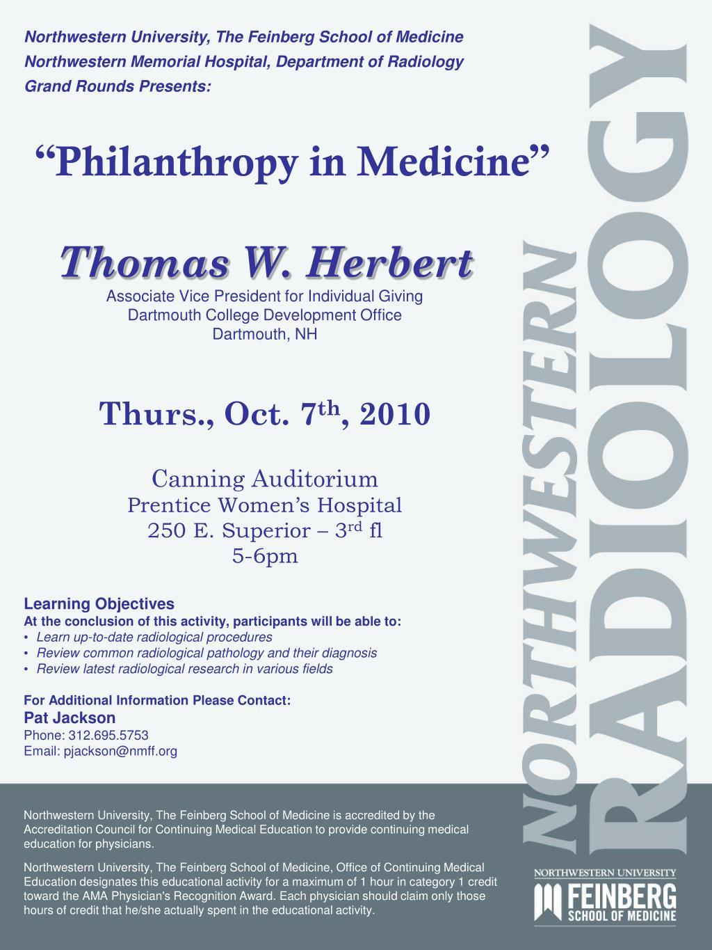 philanthropy in medicine l.
