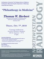 philanthropy in medicine