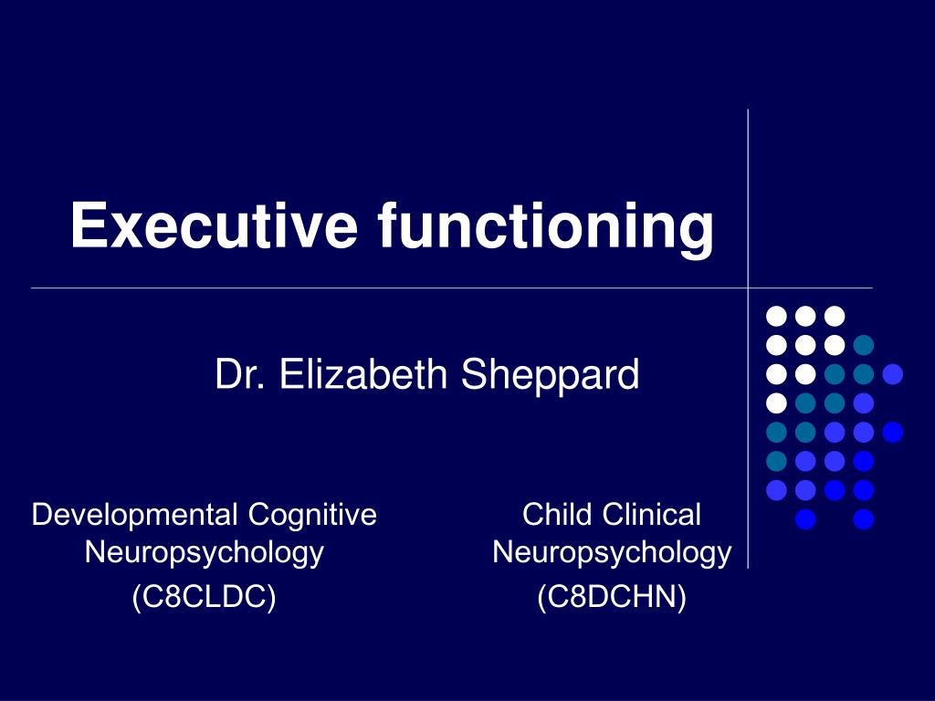 executive functioning l.