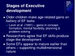 stages of executive development22