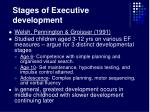 stages of executive development23