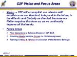 c2f vision and focus areas