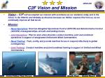c2f vision and mission