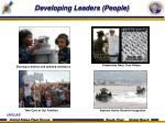 developing leaders people