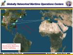 globally networked maritime operations centers