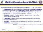 maritime operations center end state