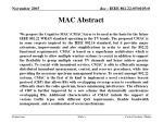 mac abstract