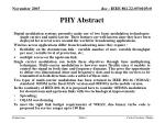 phy abstract